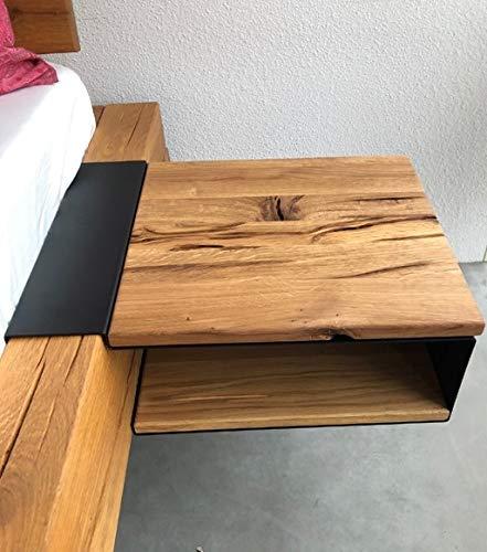 Main Möbel Nachttisch 44x15cm 'Theresa' Wildeiche geölt