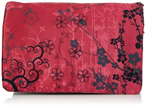 Luxburg® Design Umhängetasche Umhängetasche College Daily Bag 17,3 Zoll, Motiv: Sakura Pink