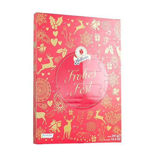 Halloren Confiserie Winteredition Adventskalender sortiert, 1er Pack (1 x 295 g)