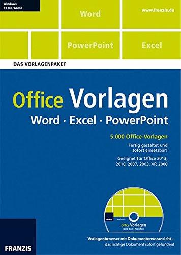Office Vorlagen Word Excel PowerPoint - Das Vorlagenpaket [import allemand]