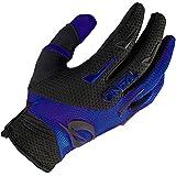 O'NEAL | Fahrrad- & Motocross Handschuh | Kinder | MX MTB DH FR Downhill Freeride | Langlebige, Flexible Materialien, belüftete Handinnenfäche | Element Youth Glove | Schwarz Blau | Größe M