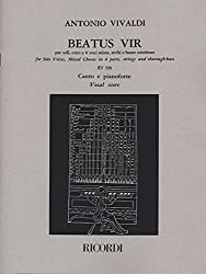Vivaldi : Beatus Vir RV598 for Solo Voices, Mixed Chorus in 4 parts, strings and thorough-bass (Psaume 111)