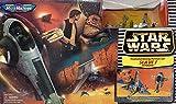 Star Wars Micro Machines Transforming Action Set Slave I Tatooine