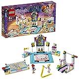 LEGO Friends - Exhibición de Gimnasia de Stephanie Nuevo set de construcción de Gimnasio de Juguete con Pistas para Practicar Varios Deportes (41372)