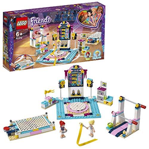 LEGO Friends L'EsibizionediGinnasticadiStephanie, Playset con 3 Accessori per Discipline Sportive con Mia Mini-Doll, 41372