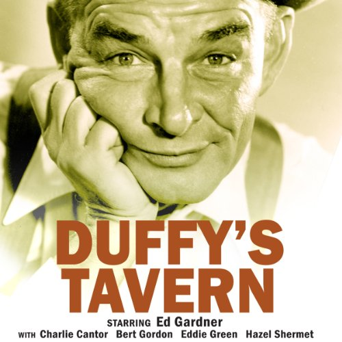 Duffy's Tavern audiobook cover art