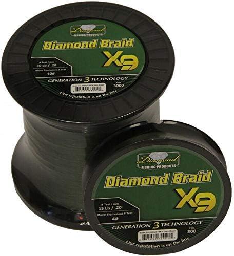 Momoi Diamond Braid Generation III Max 41% OFF Fishing Dark Line overseas Green X9 -