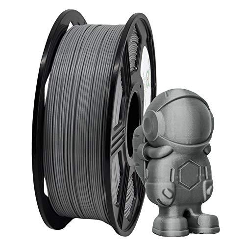 YOYI Filamento ABS 1,75 mm, filamento Stampante 3D ABS filamento 1,75 mm ABS Bobina da 1 kg, precisione dimensionale +/- 0,02 mm (Grigio)