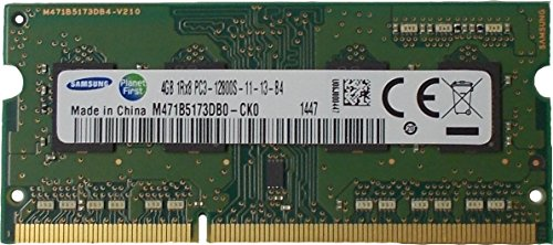 Samsung Ram Memory 4Gb (1 X 4Gb) Ddr3 Pc3-12800,1600Mhz, 204 Pin Sodimm for Laptops