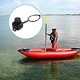 2Pcs Kayak Inflatable Boat Air Valve Hose Adapter Valve Replacement Screw Air Valve
