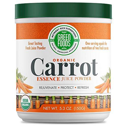 Green Foods - Carrot Essence, 5.3 oz powder
