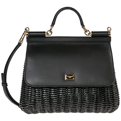 Dolce&Gabbana borsa a mano Sicily donna nero