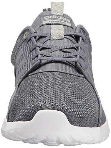 adidas Women's Cloudfoam Lite Racer Running Shoe, Onix/Onix/Clear Onix, Size 9.0