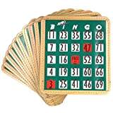 Tapp Collections Jumbo Bingo Shutter Cards 10-pk - Green