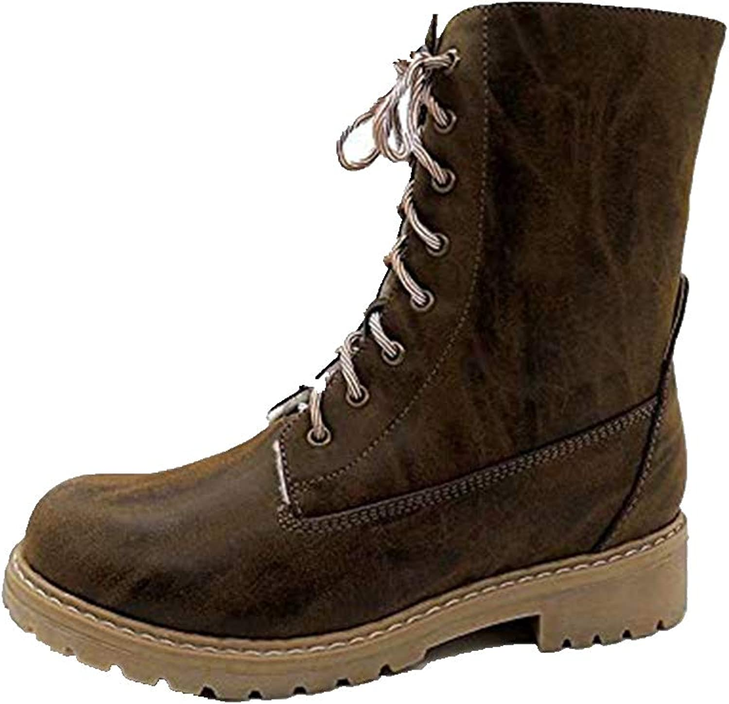Esharing Women Winter Ankle Booties Snow Warm Short Boots Fashion Lady Martain Boot