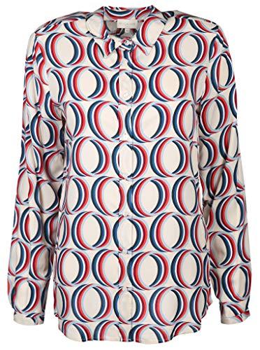 Milano Italy Damen Bluse Größe 38 EU Mehrfarbig (bunt)
