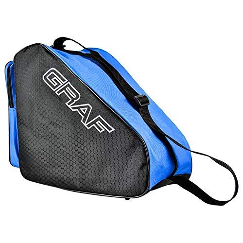 Graf Schlittschuhtasche Tasche für Schlittschuhe und Inlineskates Skates (rot)