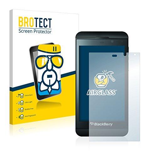 BROTECT Panzerglas Schutzfolie kompatibel mit BlackBerry Z10 - AirGlass, extrem Kratzfest, Anti-Fingerprint, Ultra-transparent