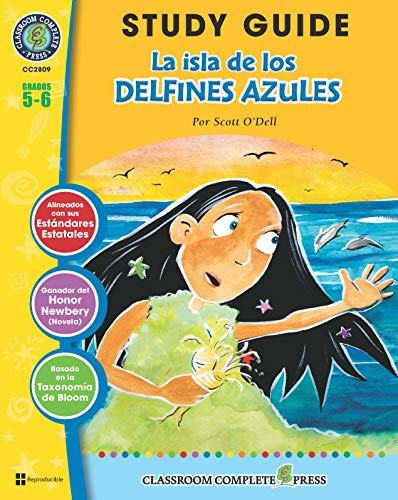 Guía de Estudio - La isla de los delfines azules (Island of the Blue Dolphins Novel Study - Spanish Version)