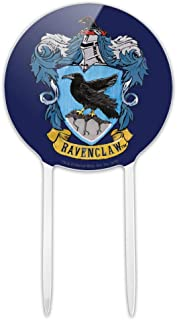 GRAPHICS & MORE Acrylic Harry Potter Ravenclaw Painted Crest Cake Topper Party Decoration for Wedding Anniversary Birthday Graduation