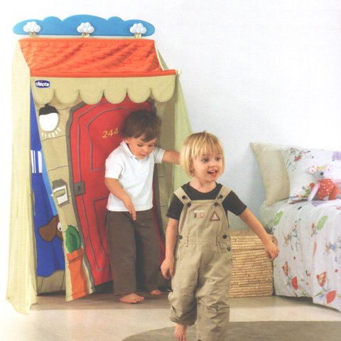 Chicco Häuschen 1 Due TRE 60015 Arredo E Complementi Bambini erste Gioca 371, Mehrfarbig, 8003670858263