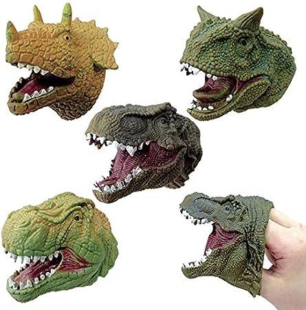 A Predatory Dinosaur Puppets Realistic Toys