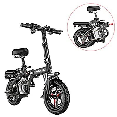 14 Inch Folding Electric Bike, 250W Electric Bike Suitable for Adults and Teenagers