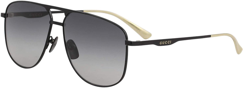 Gucci GG0336S Gafas de sol de aviador de metal