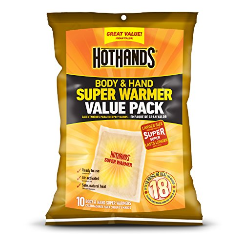 10-Ct HotHands Body & Hand Super Warmers $5.70 + Free Shipping w/ Prime or on $25+
