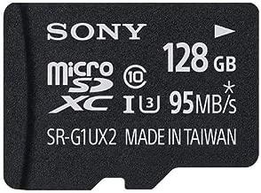 Sony SR-UX2A Series 128GB R95 W70 UHS-1 microSDXC Memory Card
