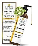 Nettoyant Visage à la Vitamine E 100 % Naturel. Le meilleur nettoyant visage pour les peaux sèches et grasses. Nettoyants...