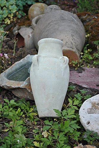 Kunert-Keramik Amphore mit 4 Henkeln,Terracotta,Tunesische Handarbeit,30cm Hoch