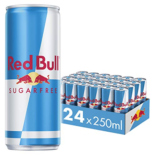 Red Bull Sugar Free, Energy Drink, eCom 250ml - 24 Count