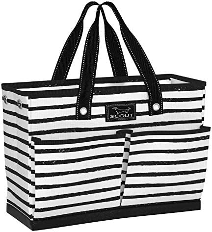 SCOUT BJ Bag Large Tote Bag with 4 Exterior Pockets Interior Zippered Compartment Double Stuff product image