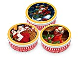 Becky´s 1 x galletas de mantequilla Danish Butter Cookies/mantequilla danesa – Pasteles en lata de Navidad – 454 g