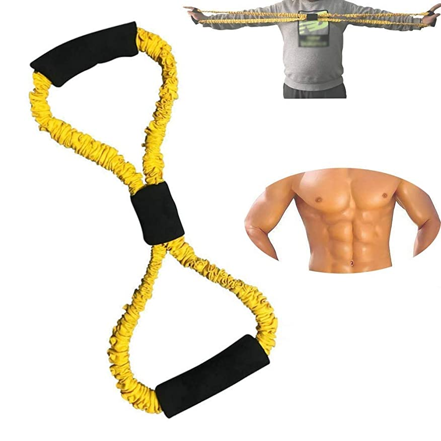 ベスト防止明確なフィットネスチューブロープワード抵抗バンドゴムバンド機器ゴムバンドロープトレーニングチューブ