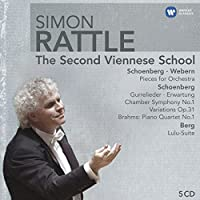 Simon Rattle Edition: The Second Viennese School by Sir Simon Rattle (2010-10-12)