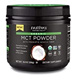 Nutiva Organic MCT Powder, Coconut, 10.6 Ounce