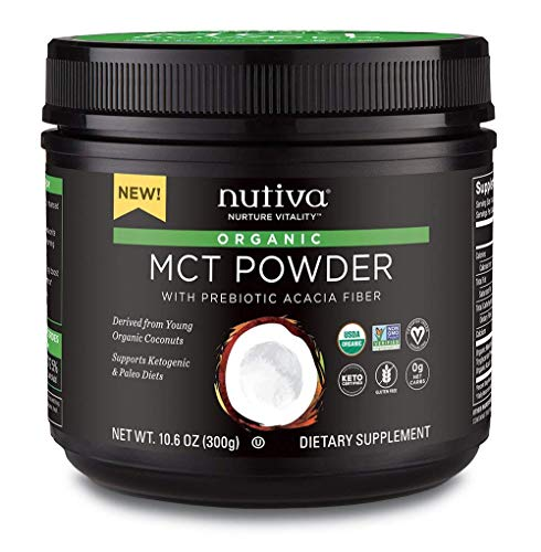 NUTIVA MCT POWDER,, 10.6 Ounce ()