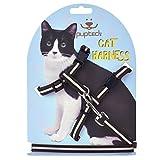 Reflective Adjustable Cat Harness Nylon Strap...