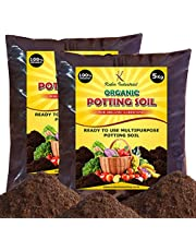 Kuber Industries Enriched Organic Earth Magic Potting Soil Fertilizer for Plants