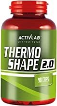 Activlab Thermogenic Fat Burner 90 Capsules Fat Tissue Reduction Weight Loss Slimming Sports Supplement Energy Pills Estimated Price : £ 13,80