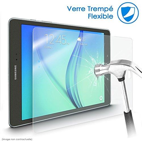 Karylax Bildschirmschutzfolie aus flexiblem Glas, Festigkeitgrad 9H, ultradünn, 0,2 mm & 100 prozent transparent, für Tablet Samsung Galaxy Note Pro 12,2 Zoll