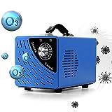 Sophinique Generador de ozono de 10.000 mg/h, purificador de aire, capacidad de purificación de aire 200 m², adecuado para hogar/hoteles/sótanos/habitaciones/garajes.