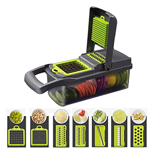 XIAOSHI cortadora de Verduras Cortador de Vegetales Slicer Fruits Herramienta Trituradora Peeler...