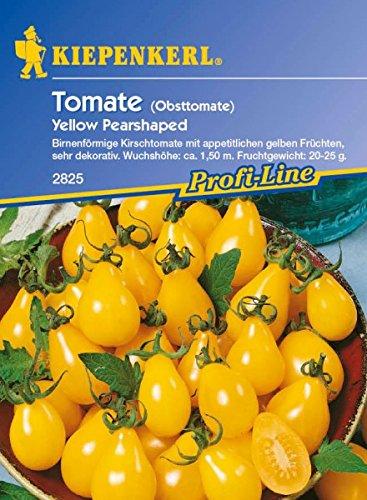 Tomaten Cherrytomaten Yellow Pearshaped birnenförmig gelb
