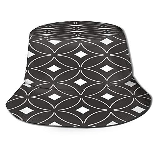 Sombrero de Pescador Unisex Papel Perforado Blanco Transparente Plegable De Sol/UV Gorra Protección para Playa Viaje Senderismo Camping