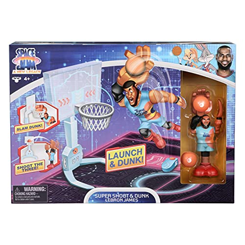 SPACE JAM: A New Legacy - Super Shoot & Dunk Playset with Lebron Figure