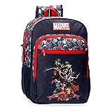 Marvel Los Vengadores Avengers Team Mochila Adaptable Azul 30x38x12 cms Poliéster 13,68L