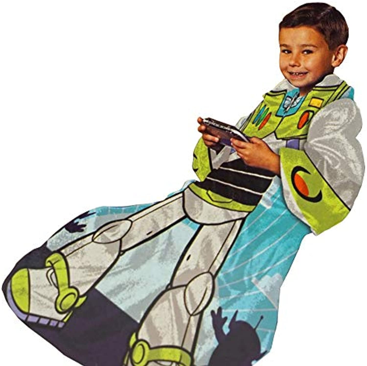 Buzz Lightyear Real Hero Blanket SLEEVES Comfy Throw YOUTH